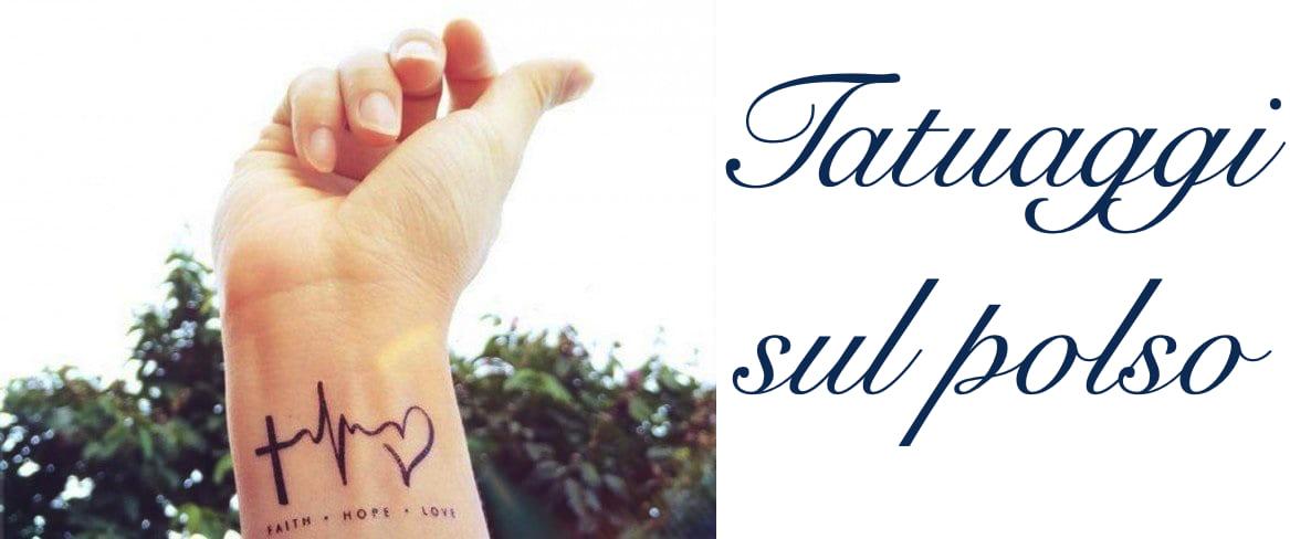 Tatuaggio Tattoo Polso Significato