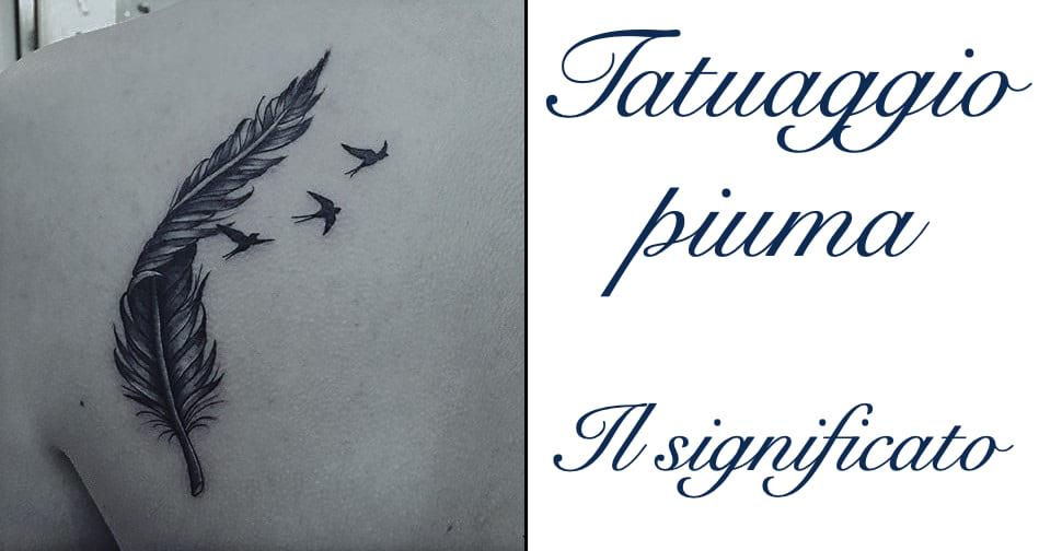 Tatuaggio Piuma Tattoo Significato