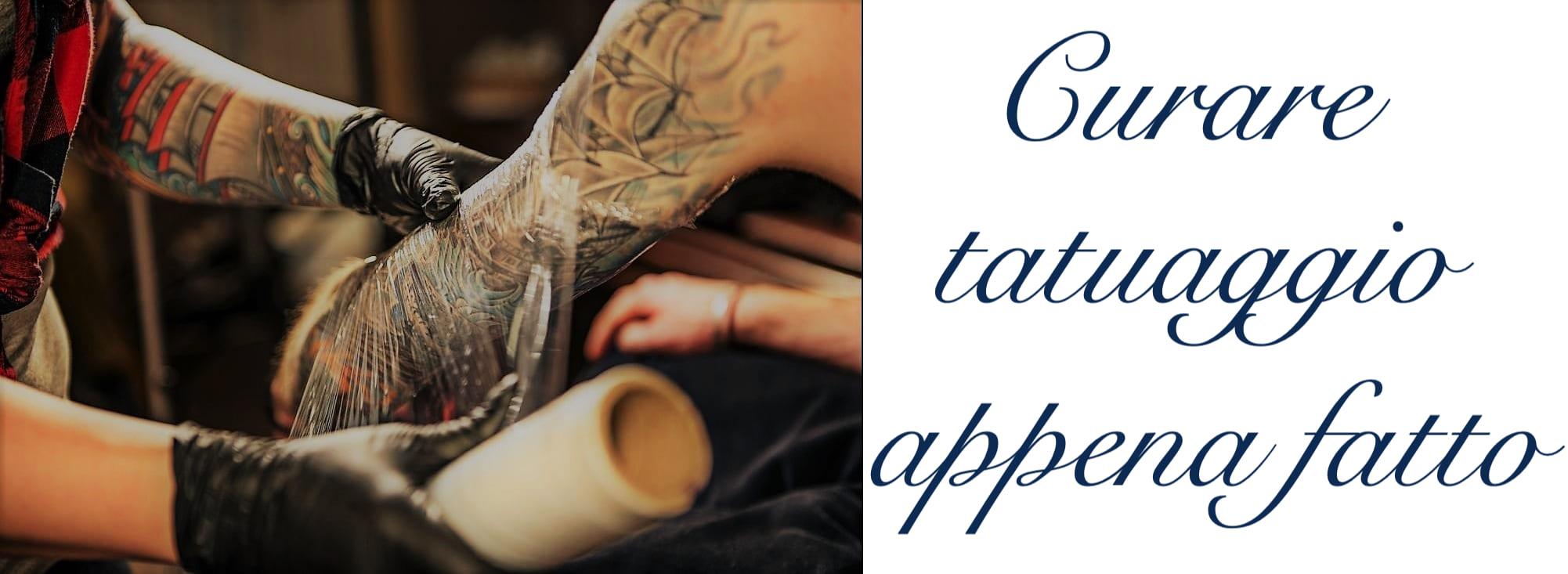 Come Curare Tatuaggio Tattoo Appena Fatto