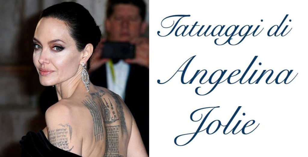 Tatuaggio tattoo Angelina Jolie significato