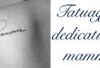Tatuaggio tattoo mamma significato