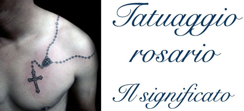 Tatuaggio tattoo rosario significato