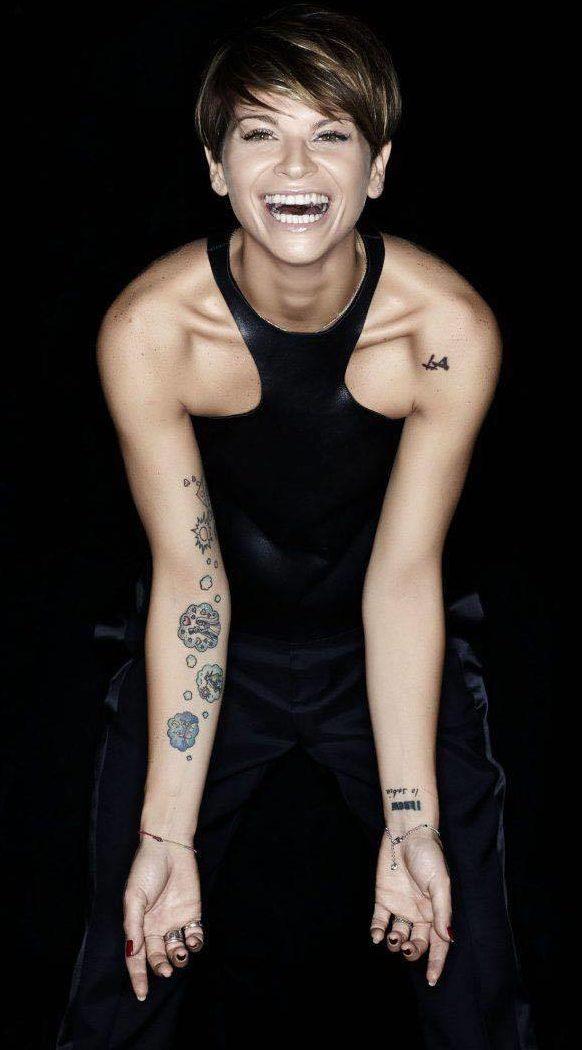 Tatuaggi Tattoo Alessandra Amoroso LA