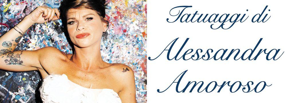 Tatuaggi Tattoo Alessandra Amoroso Significato