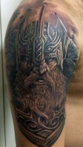 Tatuaggio Tatto Celtico guerriero