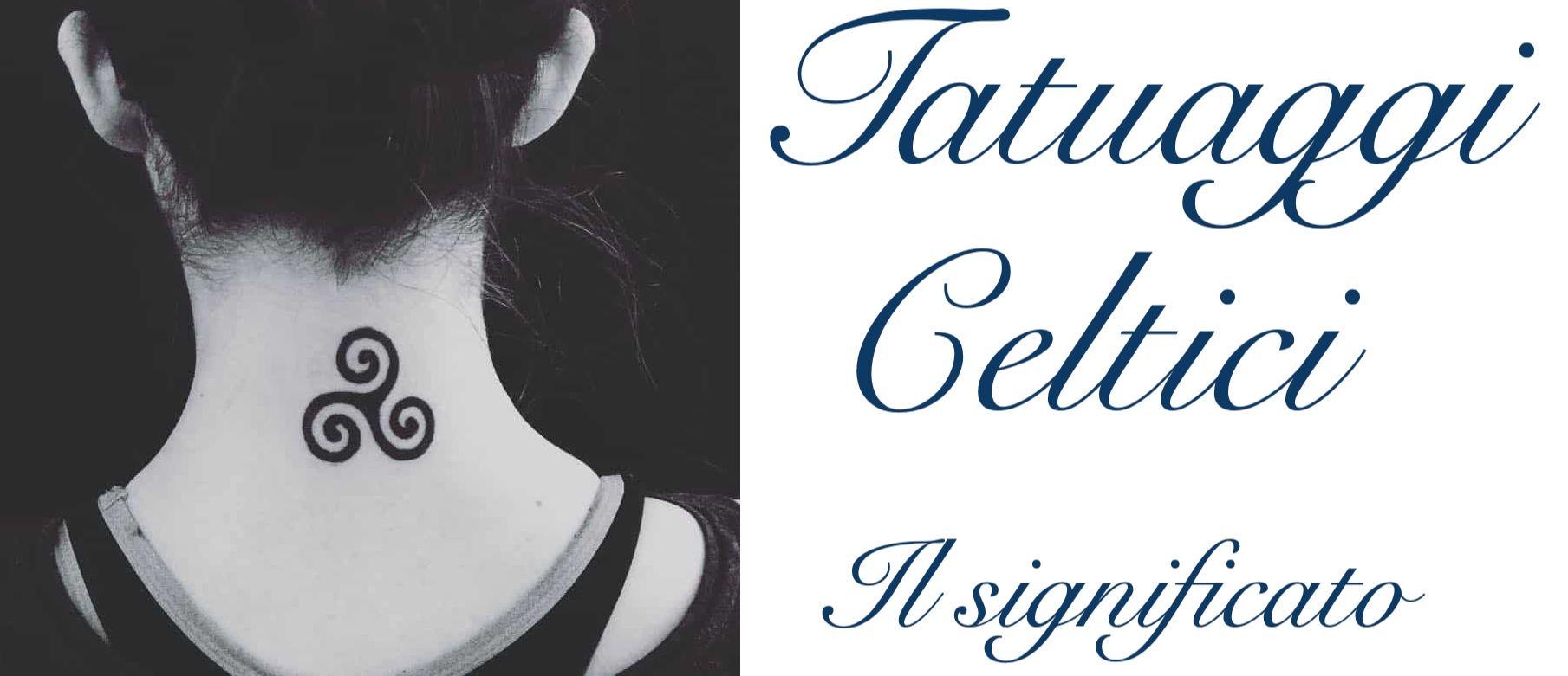 Tatuaggio Tattoo Celtico Significato