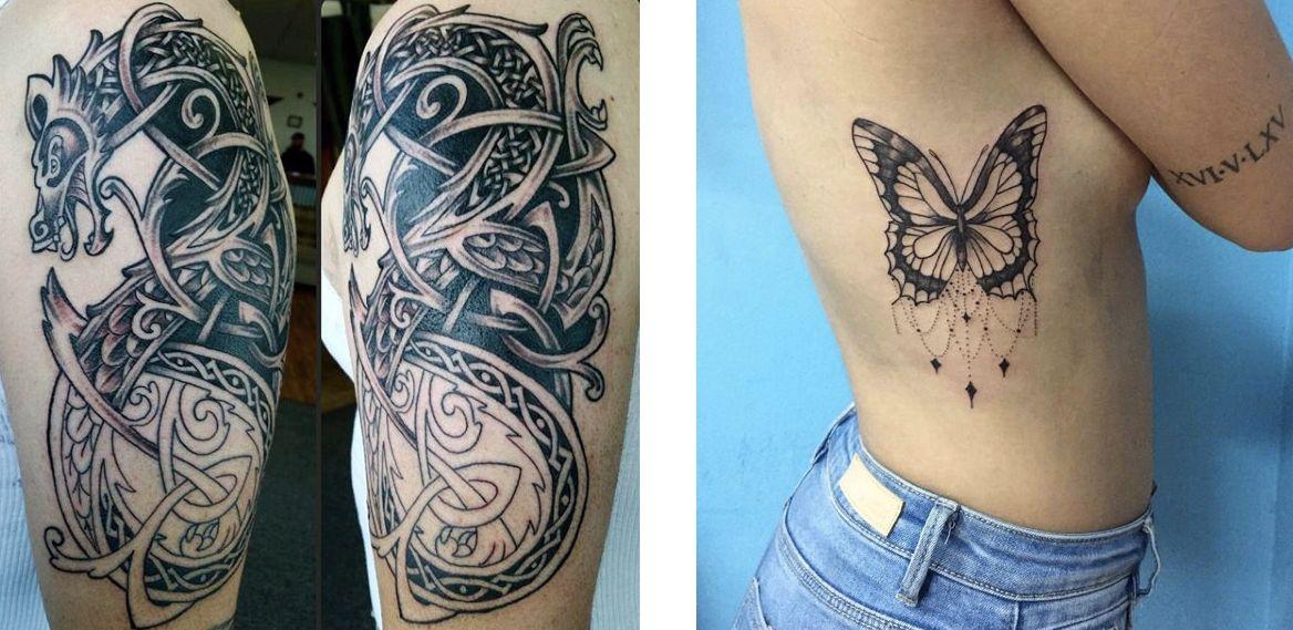 Tatuaggio Tattoo Celtico animali