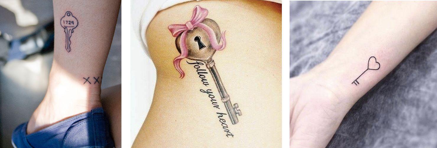 Tatuaggio Tattoo Chiave Piccoli e Grandi