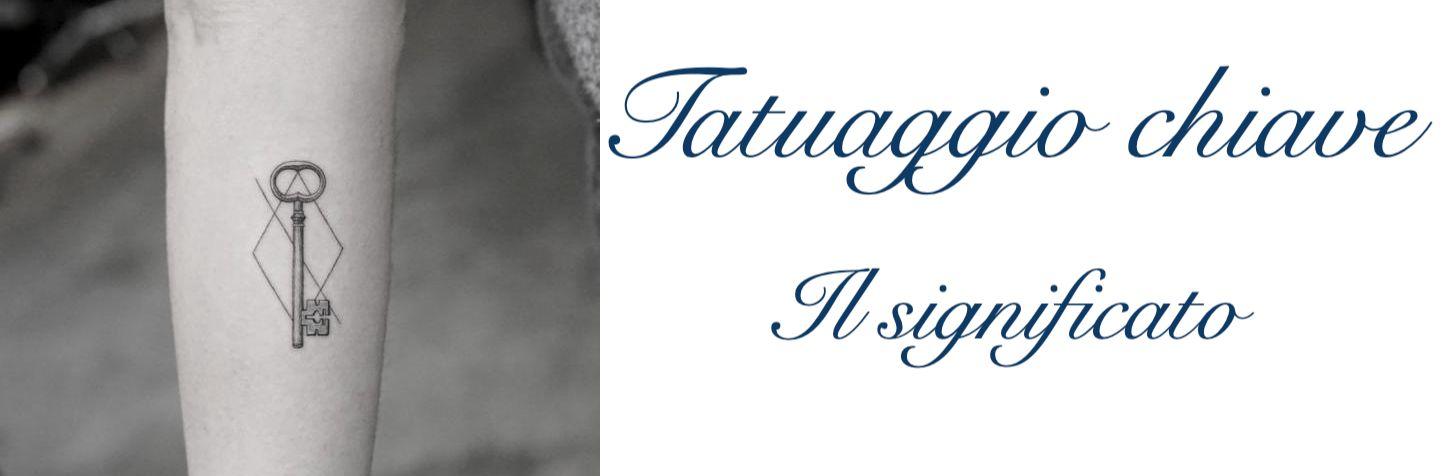 Tatuaggio Tattoo Chiave Significato