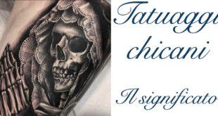 Tatuaggio Tattoo Chicano Significato