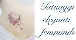 Tatuaggio Tattoo Elegante Femminile Significato