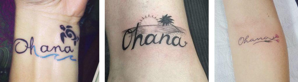 Tatuaggio Tattoo Ohana Stili Disegni