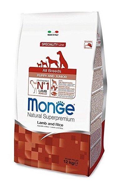 Monge Super Premium all-Breeds Puppy Agnello Riso
