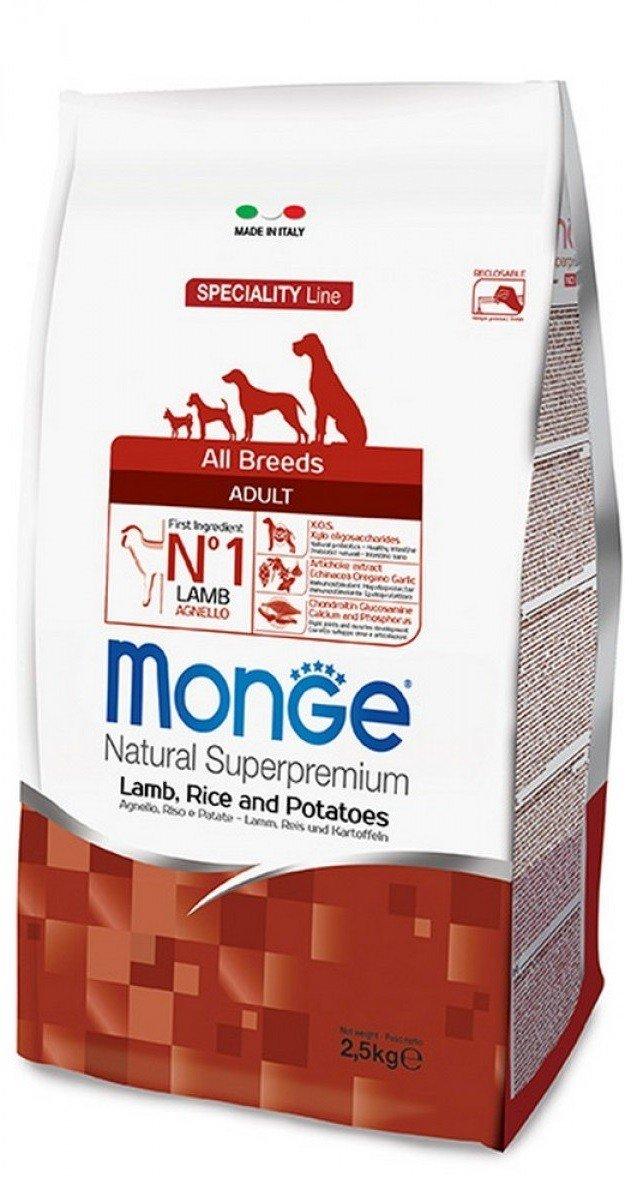 Monge Superpremium All Breeds Adult Agnello Riso e Patate