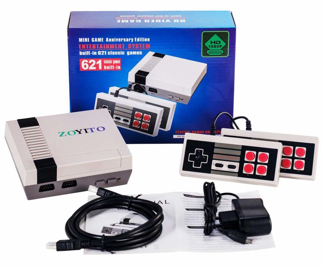ZOYITO-Console di gioco Mini Family Classic Videogioco TV 600