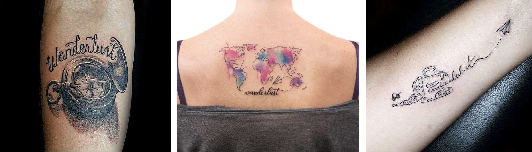 Tatuaggio Tattoo Viaggi Viaggiare Scritte