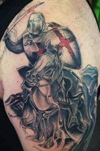 Tatuaggio Tattoo Cavallo Cavaliere