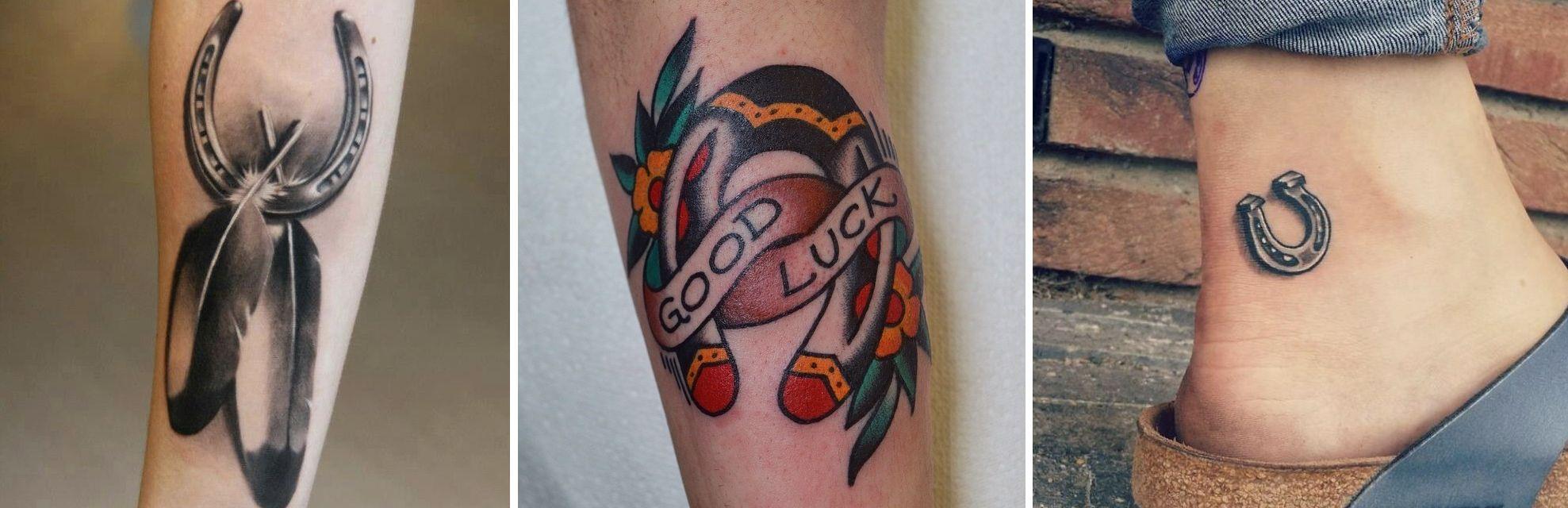 Tatuaggio Tattoo Cavalli Ferro di Cavallo