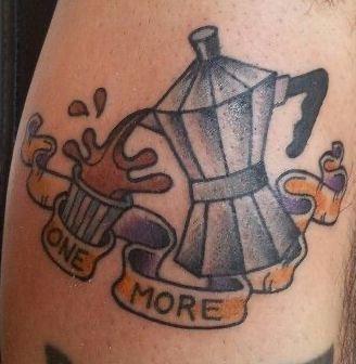 Tatuaggio Tatto Napoli Citta Caffe