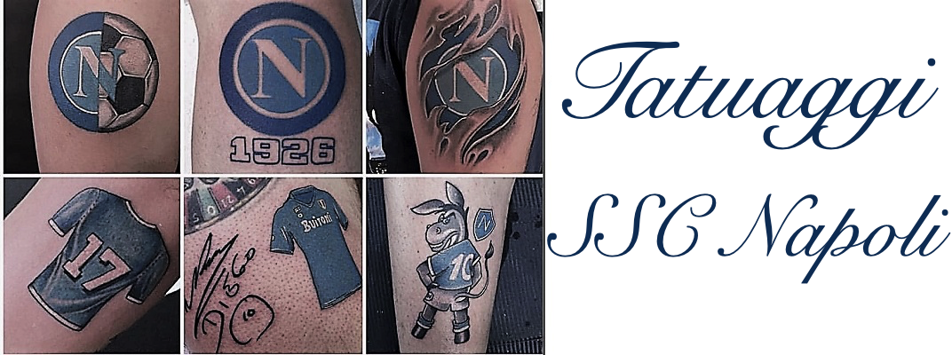 Tatuaggio Tattoo SSC Napoli Calcio Significato
