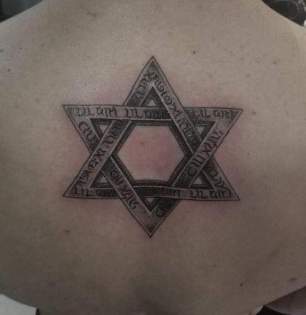 Tatuaggio Tattoo Stella sei punte