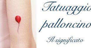 Tatuaggio Tattoo Palloncino Significato
