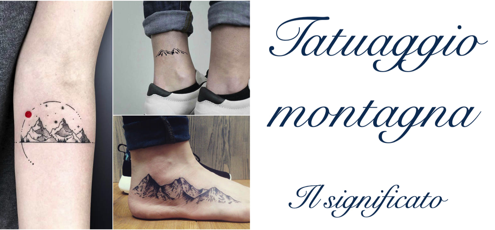 Tatuaggio Tatto Montagna Significato