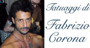 Tatuaggio Tattoo Fabrizio Corona Significato