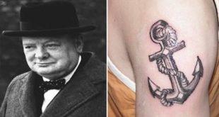 Tatuaggio Tattoo Winston Churcill