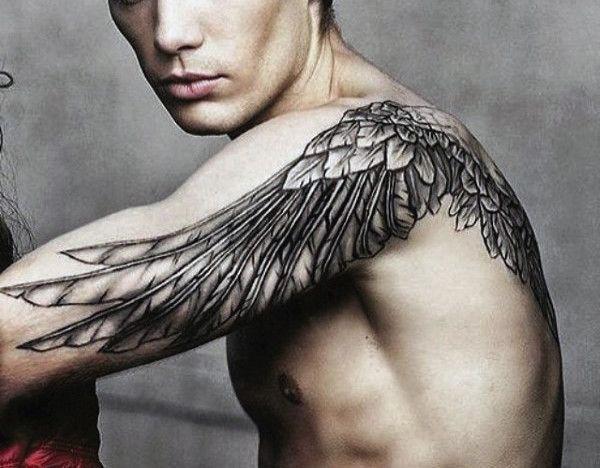 Tatuaggio Tattoo Ali Braccio