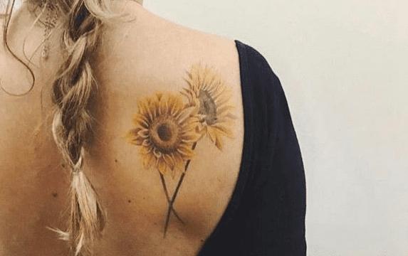 Tatuaggio Tattoo Girasole Coppia