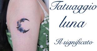 Tatuaggio Tattoo Luna Significato