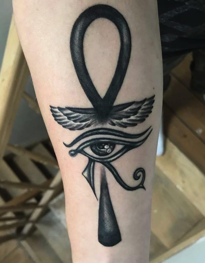 Tatuaggio Tattoo Occhio Horus Ra