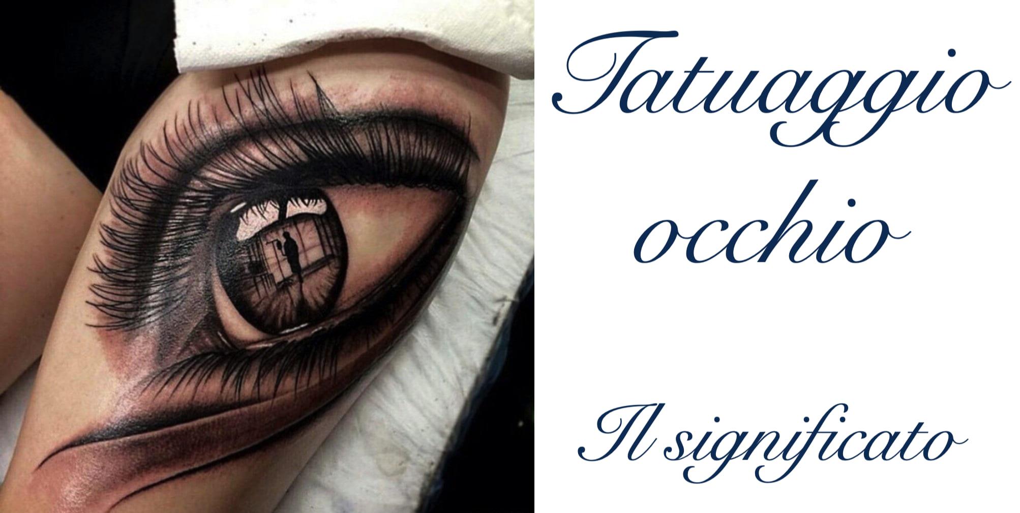 Tatuaggio Tattoo Occhio Significato